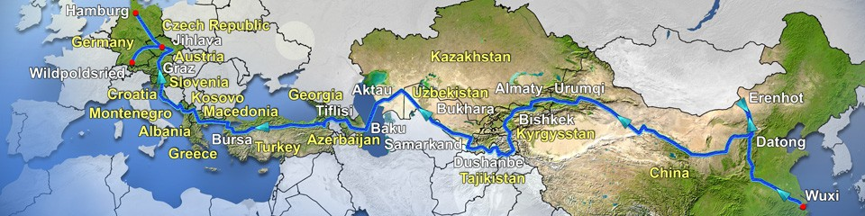 China – Deutschland Tour 2013